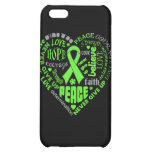 Non-Hodgkins Lymphoma Heart Words iPhone 5C Cover