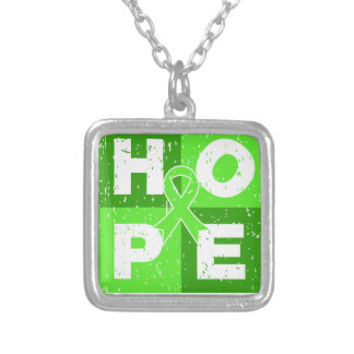 Non-Hodgkins Lymphoma HOPE Cube Personalized Necklace