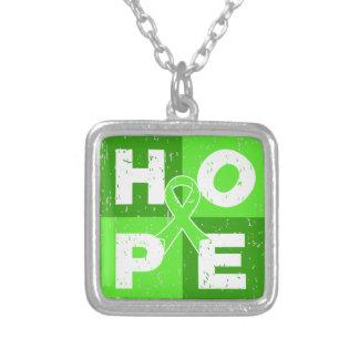 Non-Hodgkins Lymphoma HOPE Cube Necklaces