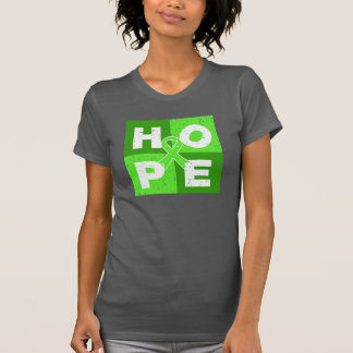 Non-Hodgkins Lymphoma HOPE Cube T Shirts