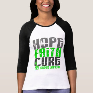 Non-Hodgkin's Lymphoma HOPE FAITH CURE 1 T-Shirt