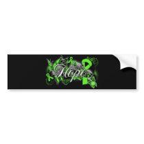 Non-Hodgkins Lymphoma Hope Garden Ribbon Car Bumper Sticker