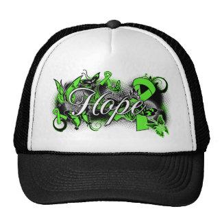 Non-Hodgkins Lymphoma Hope Garden Ribbon Hat