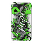Non-Hodgkins Lymphoma Hope Garden Ribbon Cases For iPhone 4