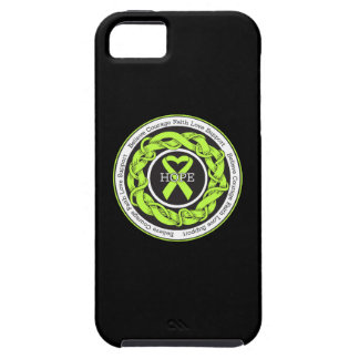Non-Hodgkins Lymphoma Hope Intertwined Ribbon iPhone 5 Cases