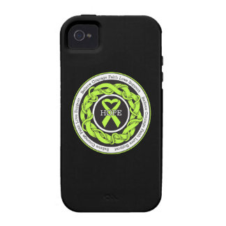 Non-Hodgkins Lymphoma Hope Intertwined Ribbon Case-Mate iPhone 4 Covers