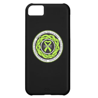 Non-Hodgkins Lymphoma Hope Intertwined Ribbon Cover For iPhone 5C