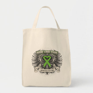 Non-Hodgkins Lymphoma Hope Love Cure Canvas Bags