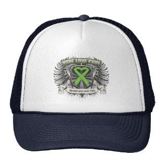Non-Hodgkins Lymphoma Hope Love Cure Hats