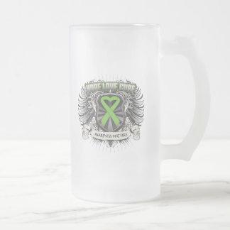 Non-Hodgkins Lymphoma Hope Love Cure Mug