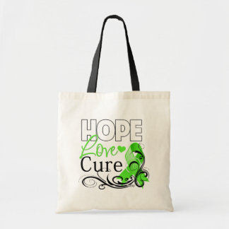 Non-Hodgkins Lymphoma Hope Love Cure Tote Bag