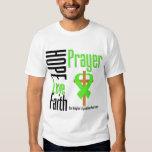Non-Hodgkins Lymphoma Hope Love Faith Prayer Cross Tees