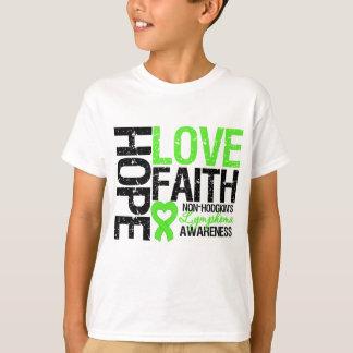 Non-Hodgkin's Lymphoma Hope Love Faith T-Shirt