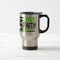 Non-Hodgkin's Lymphoma Hope Love Faith Travel Mug