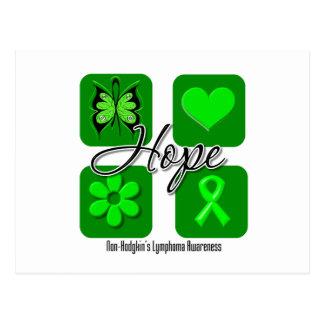Non Hodgkins Lymphoma Hope Love Inspire Awareness Post Card