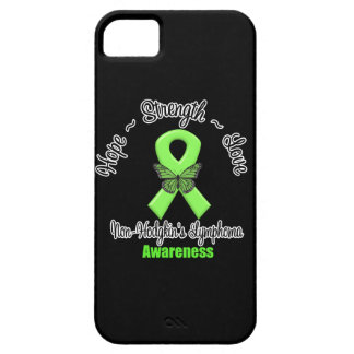 Non-Hodgkins Lymphoma Hope Strength Love iPhone 5 Cases