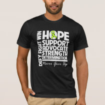 Non-Hodgkins Lymphoma Hope Support Strength T-Shirt
