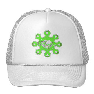 Non-Hodgkin's Lymphoma Hope Unity Ribbons Hat