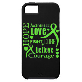 Non-Hodgkins Lymphoma Hope Words Collage iPhone 5 Case