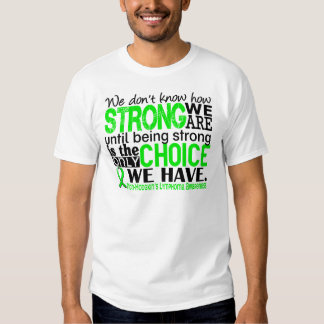 Non-Hodgkins Lymphoma How Strong We Are Tshirts