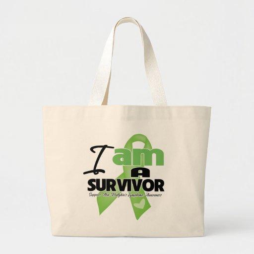 Non-Hodgkins Lymphoma - I am a Survivor Jumbo Tote Bag