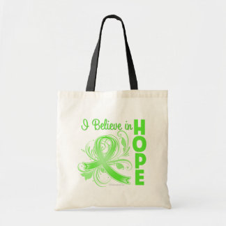 Non-Hodgkins Lymphoma I Believe in Hope Canvas Bags