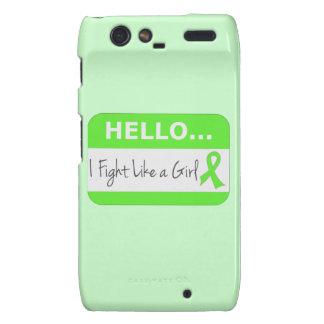 Non-Hodgkins Lymphoma I Fight Like a Girl Droid RAZR Case