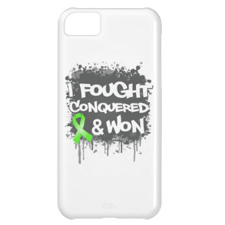 Non-Hodgkins Lymphoma I Fought Conquered Won iPhone 5C Cases