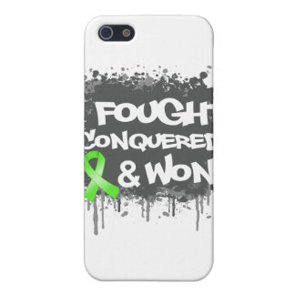 Non-Hodgkins Lymphoma I Fought Conquered Won iPhone 5 Case