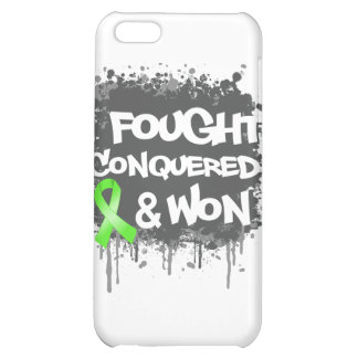 Non-Hodgkins Lymphoma I Fought Conquered Won iPhone 5C Cover