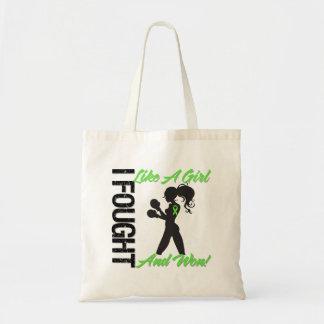 Non-Hodgkin's Lymphoma I Fought Like A Girl & Won Tote Bag