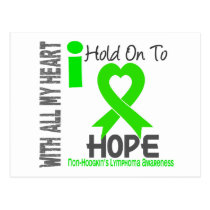 Non-Hodgkins Lymphoma I Hold On To Hope Postcard