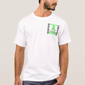Non-Hodgkin's Lymphoma I Proudly Wear Lime Green 2 T-Shirt