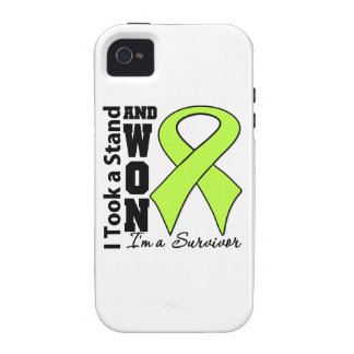 Non-Hodgkins Lymphoma I Took a Stand and Won iPhone 4 Cases
