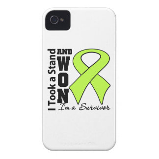 Non-Hodgkins Lymphoma I Took a Stand and Won iPhone 4 Case-Mate Cases