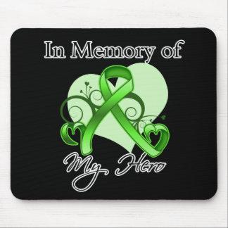 Non-Hodgkins Lymphoma In Memory of My Hero Mouse Pad