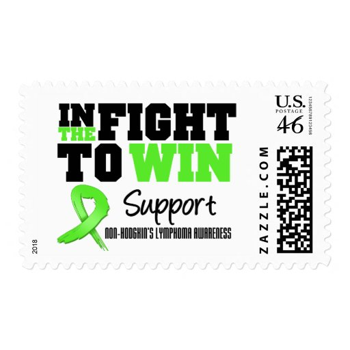 Non Hodgkin's Lymphoma In The Fight To Win Stamps