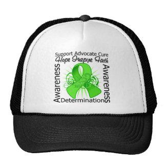 Non-Hodgkins Lymphoma Inspirations Spiral Ribbon Hats