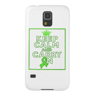 Non-Hodgkins Lymphoma Keep Calm and Carry ON Galaxy Nexus Cases