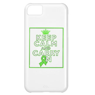 Non-Hodgkins Lymphoma Keep Calm and Carry ON Case For iPhone 5C