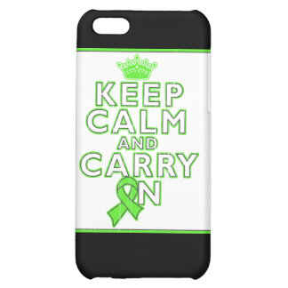 Non-Hodgkins Lymphoma Keep Calm and Carry ON iPhone 5C Cover