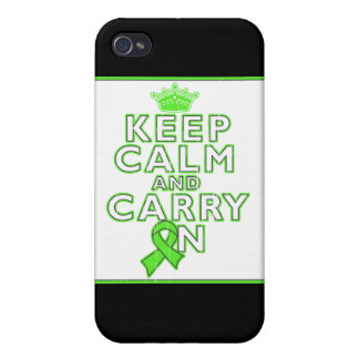 Non-Hodgkins Lymphoma Keep Calm and Carry ON iPhone 4/4S Cover