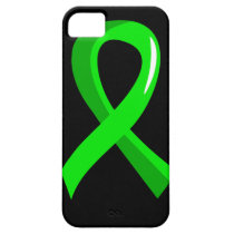 Non-Hodgkin's Lymphoma Lime Green Ribbon 3 iPhone SE/5/5s Case