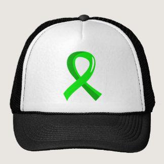 Non-Hodgkin's Lymphoma Lime Green Ribbon 3 Trucker Hat