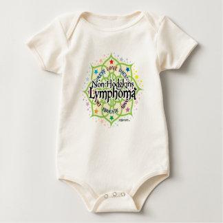 Non-Hodgkins Lymphoma Lotus Baby Bodysuit