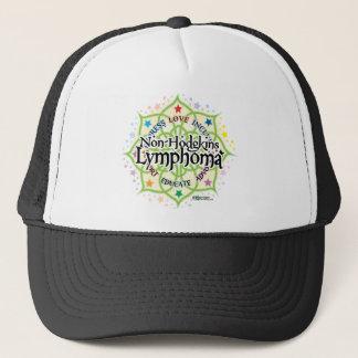Non-Hodgkins Lymphoma Lotus Trucker Hat