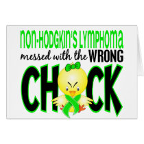 Non-Hodgkin's Lymphoma Messed With The Wrong Chick Card
