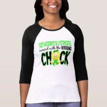 Non-Hodgkin's Lymphoma Messed With The Wrong Chick T-Shirt