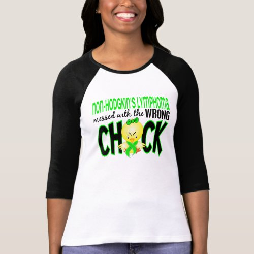 Non_Hodgkins Lymphoma Messed With The Wrong Chick T_Shirt