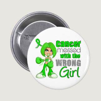 Non-Hodgkin's Lymphoma Messed With Wrong Girl.png Pinback Button